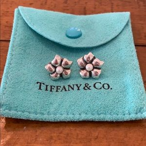 Tiffany Flower Earrings